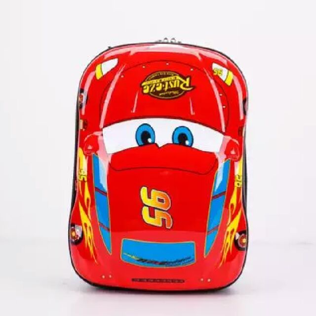 ~13 吋可愛 3D 立體硬殼背包❤寶貝高腳屋❤兒童行李箱可愛旅行箱登機箱拉桿書包護脊書包