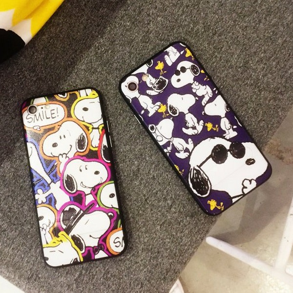 iphone6 iphone6s iphone7 手機殼❤️SNOOPY 史奴比手機殼自帶