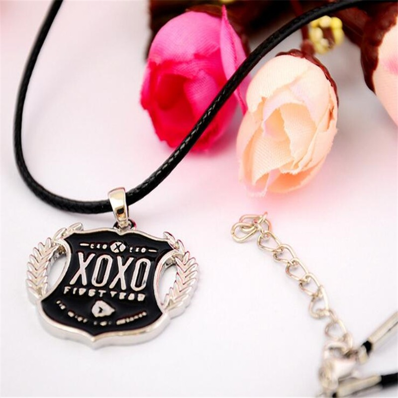 EXO wolf XOXO LOGO 項鏈官方同款周邊
