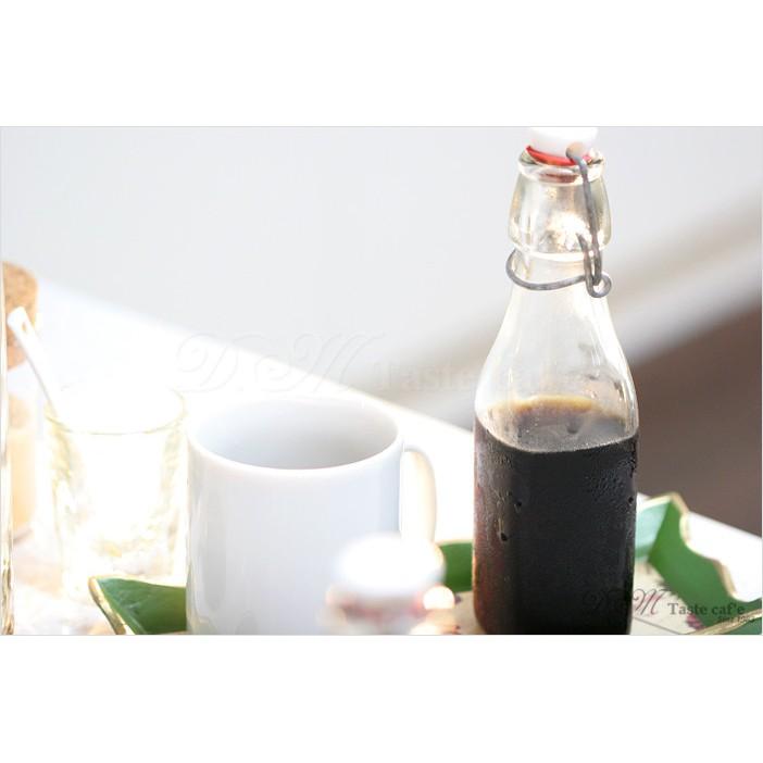 D M Taste caf e Bormioli Rocco 透明玻璃瓶500ml 冰滴咖
