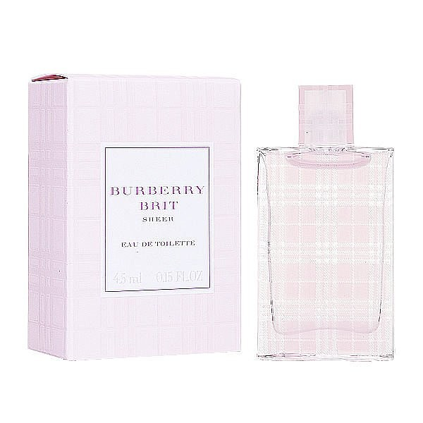~超激敗~Burberry Brit sheer 粉紅風格女性淡香水5ML 小香