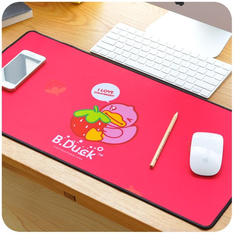 鼠標墊可愛卡通動漫鼠標墊電腦鎖邊超大厚護腕桌墊韓國家用