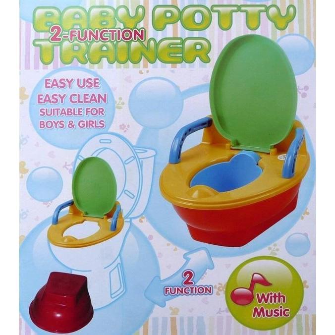 只能宅配!!台製外銷品幼兒多 學習便器BABY POTTY 有音樂聲喔!!SH 09HA