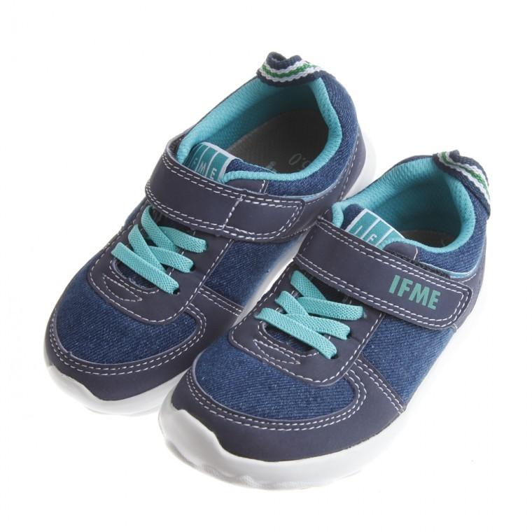 晨晨童鞋正品 IFME 牛仔藍帥氣超輕量機能 鞋