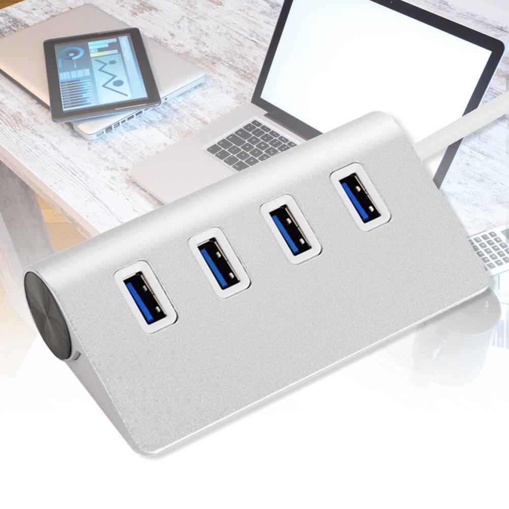 4 端口USB 3 0 HUB 鋁高速 Macbook Pro Mac PC 筆記本電腦5