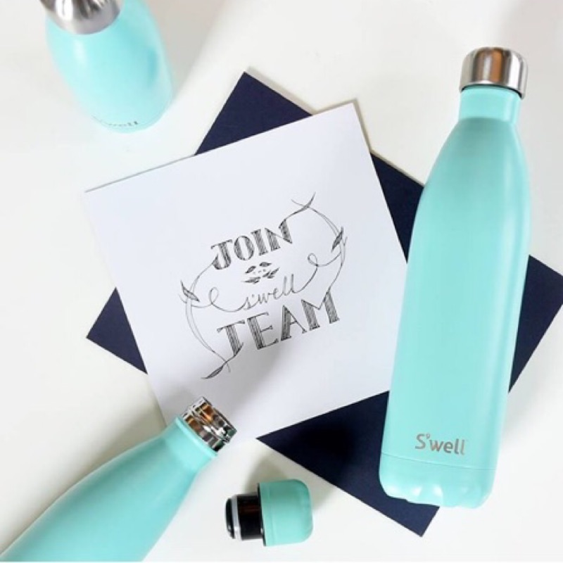 swell bottle 天藍色