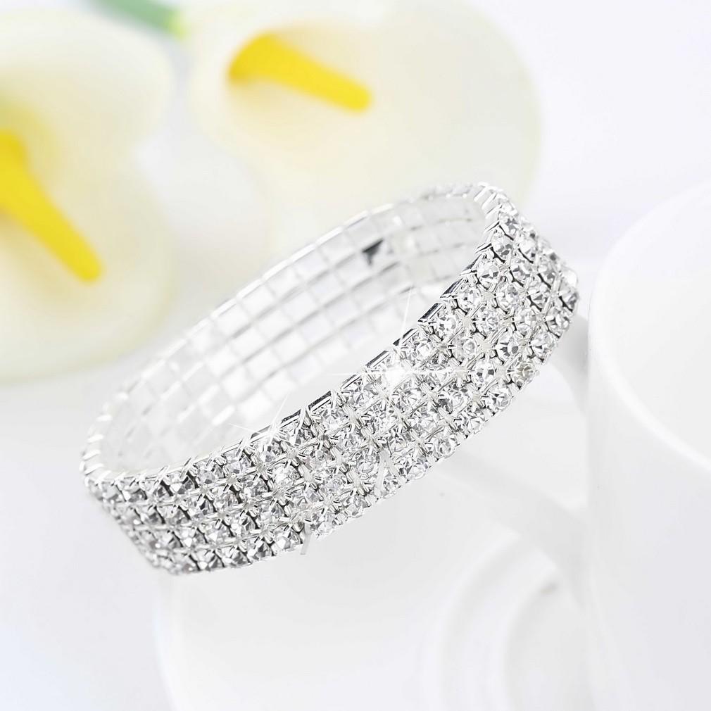 水鑽水晶手鍊新娘手鐲