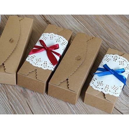 牛皮紙盒烘焙包裝月餅盒蛋糕糕點飾品餅干馬卡龍 送禮 包裝