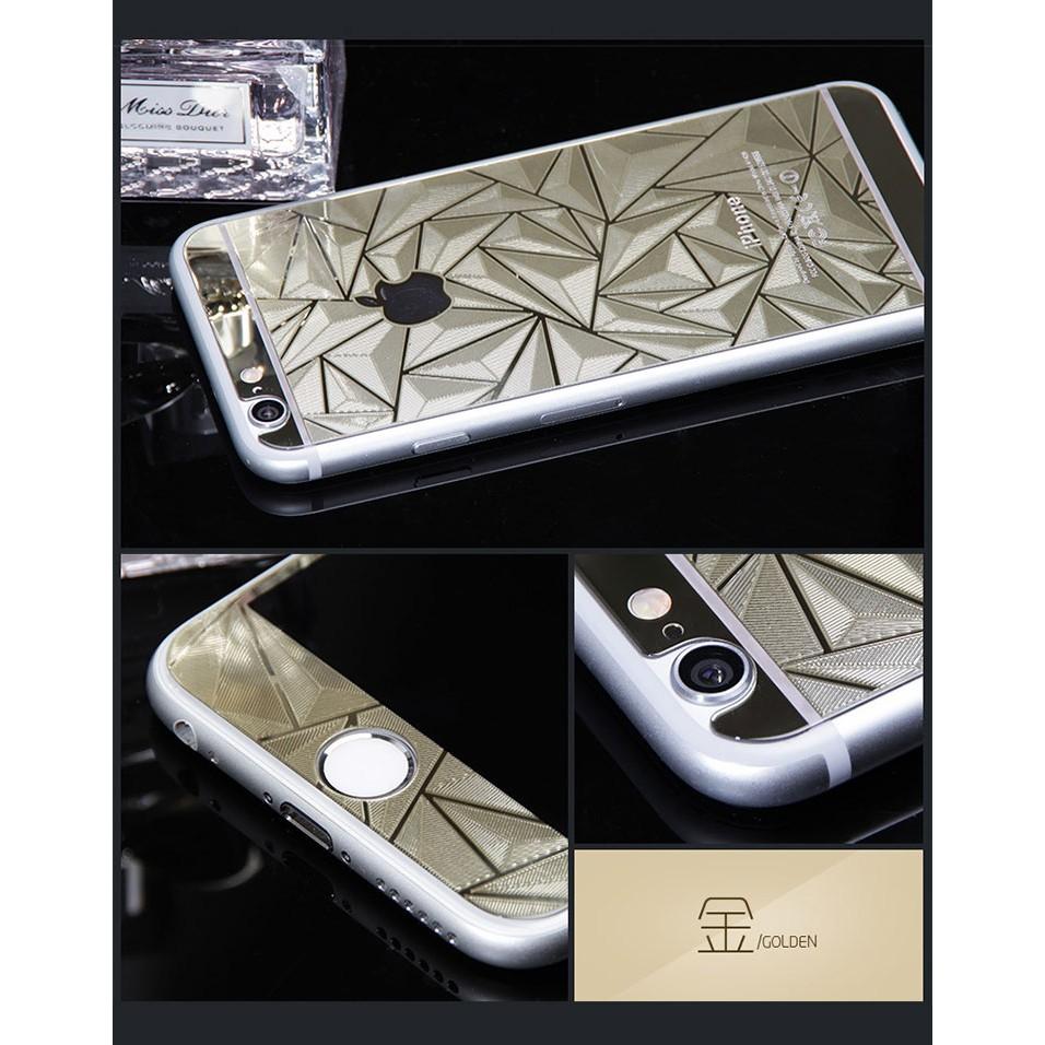 蘋果iphone 6 plus 5 5 吋土豪金全屏前後膜立體鋼化膜保護貼