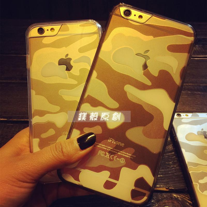 〖鎂殼〗城市迷彩iPhone7 6s i6 plus I7 情侶姊妹手機殼軟殼透明殼雙料殼