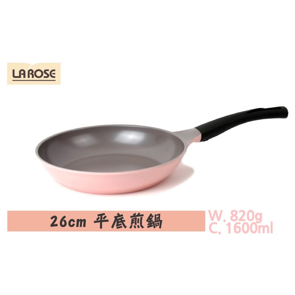 韓國正品 韓國CHEF TOPF 玫瑰鍋LA ROSE 煎鍋系列26cm 煎鍋無包裝外盒