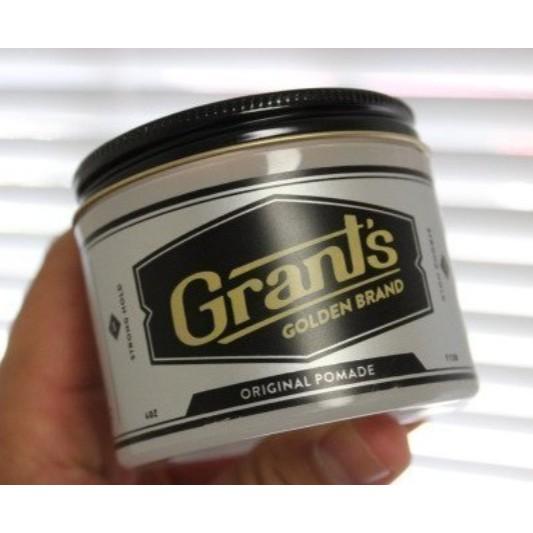 Grants Golden Brand 水溶髮蠟強度定型髮油 潮流