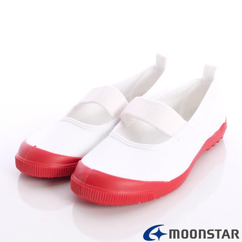 Moonstar 室內鞋(紅色款)