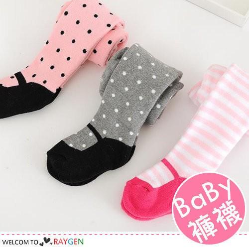 女童點點毛圈假鞋襪連身褲襪PP 褲襪~2F994Z879 ~