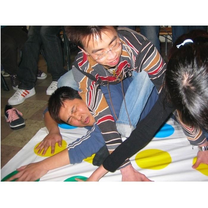 twister 身體扭扭樂遊戲聚會大遊戲墊身體平衡互動歡樂聚會親子遊戲地墊R67