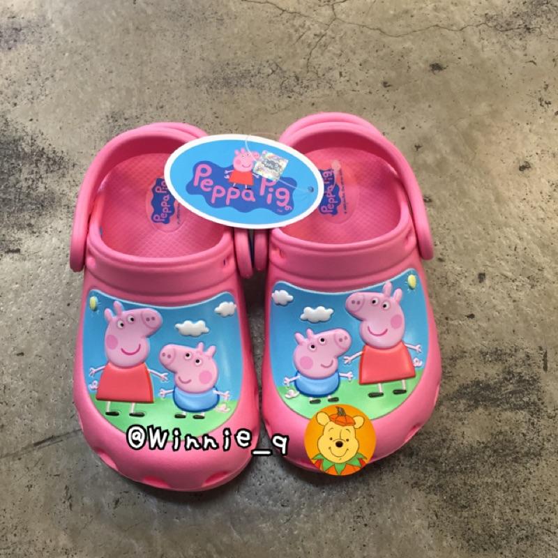 新品佩佩豬防水鞋溯溪鞋花園鞋