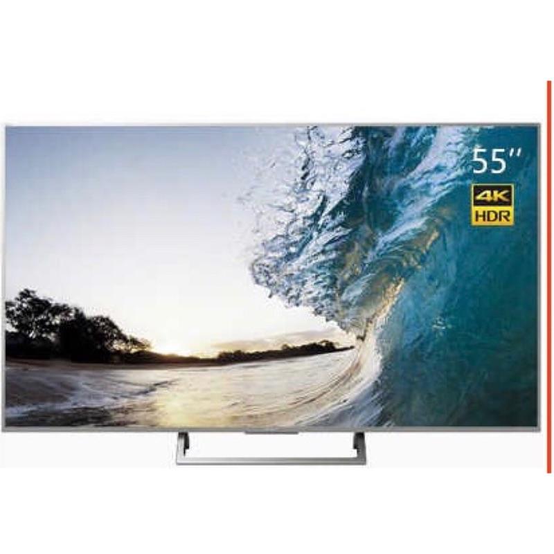 Sony電視 全新55吋 4k液晶顯示器 限時特價