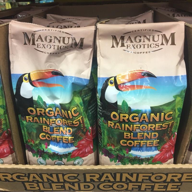 熱帶雨林有機咖啡豆907 公克Costco 好市多Magnum 676047
