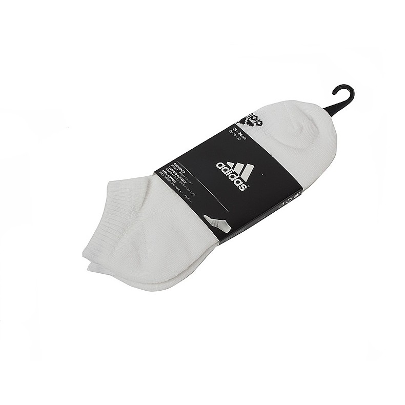 ADIDAS MEIA LINER CUSHION 3S 白色訓練短襪AA2282