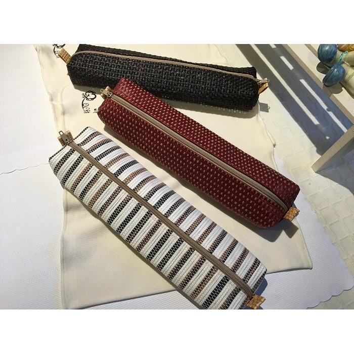 ~QC 館~紙布拉鍊餐具袋100 南投 製作家庭號3 色