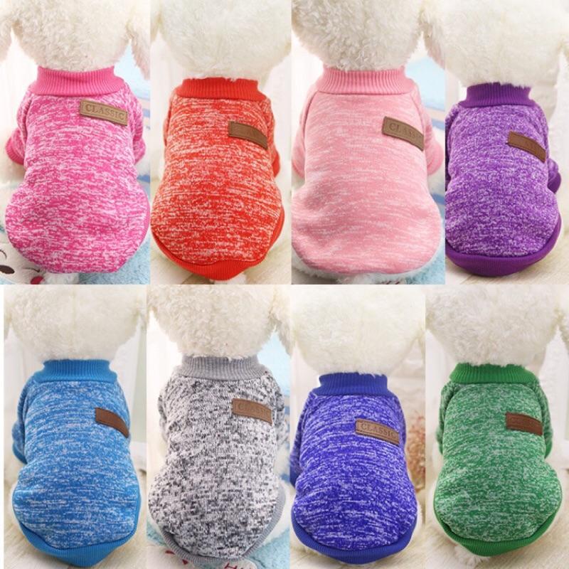 ( )狗狗 毛衣狗衣服小型犬服飾共9 色(灰色、深藍、粉色、桃紅、橘紅色)C c shop