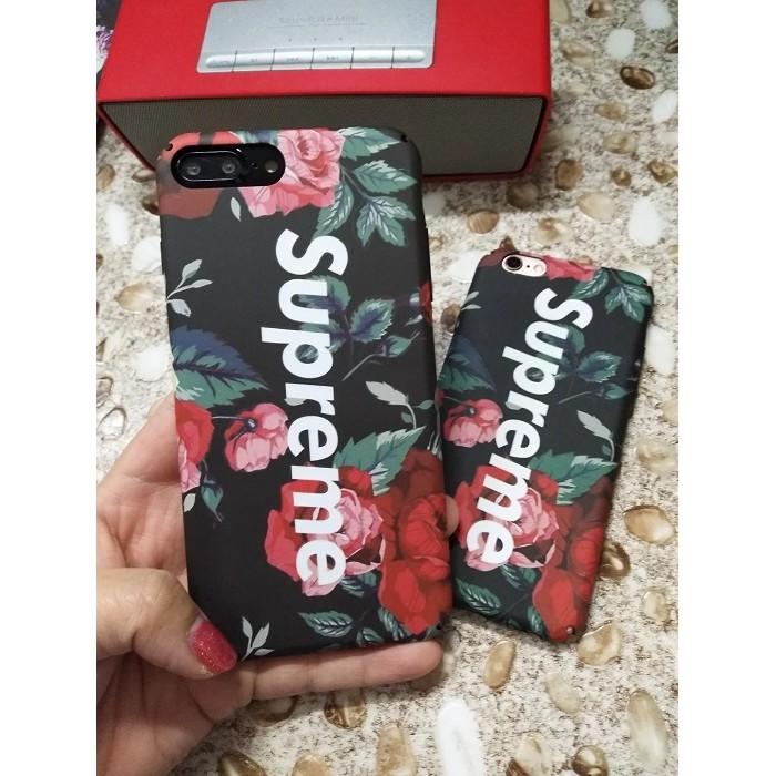 iphone6 6plus 潮牌酷炫全包邊手機殼磨砂硬殼iphone6 花卉迷彩iphon