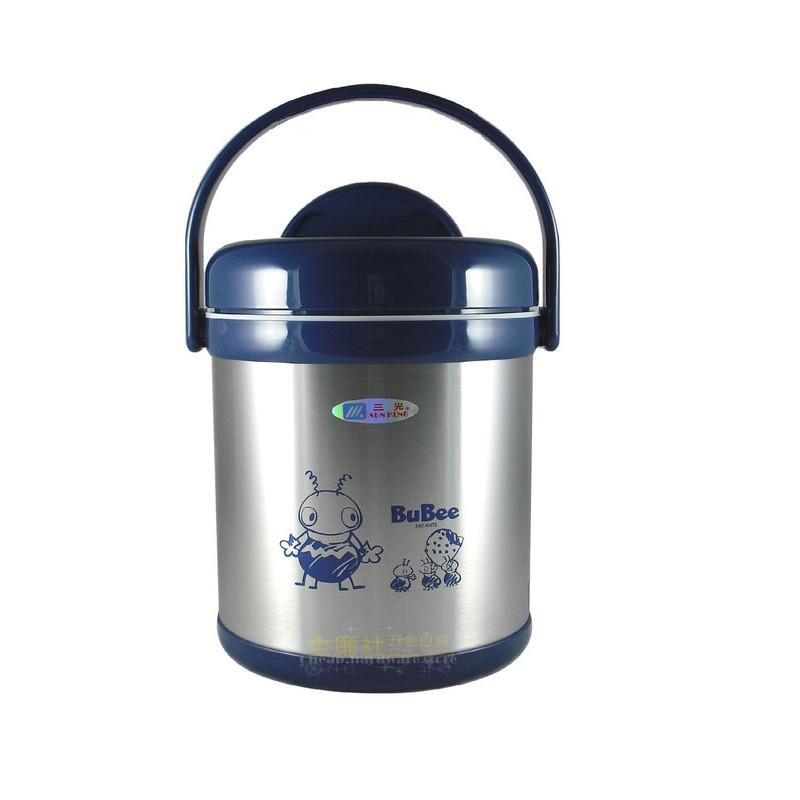 三光牌提鍋二層高真空源味提鍋1 5L 藍色悶燒鍋H 1500 保溫便當盒燜燒鍋