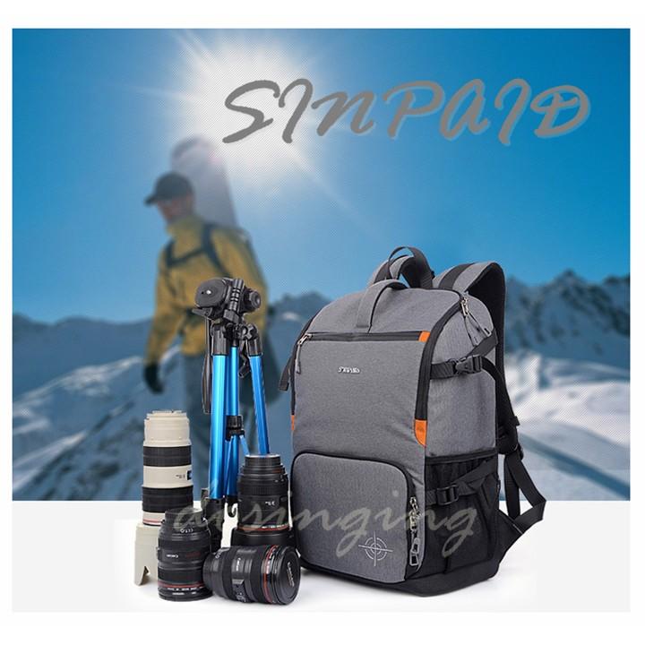 ◤包包工廠◢一機3 鏡攝影包單眼相機包防水電腦包後背包相機背包 全 SY 07