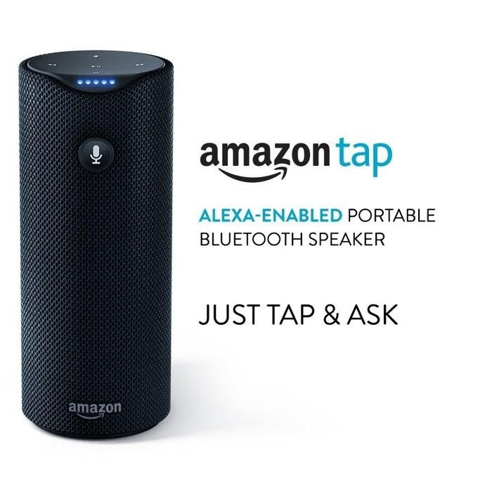 ~Ai Tec ~Amazon Tap 攜帶式藍芽喇叭語音助理智慧家電海外直寄~5968