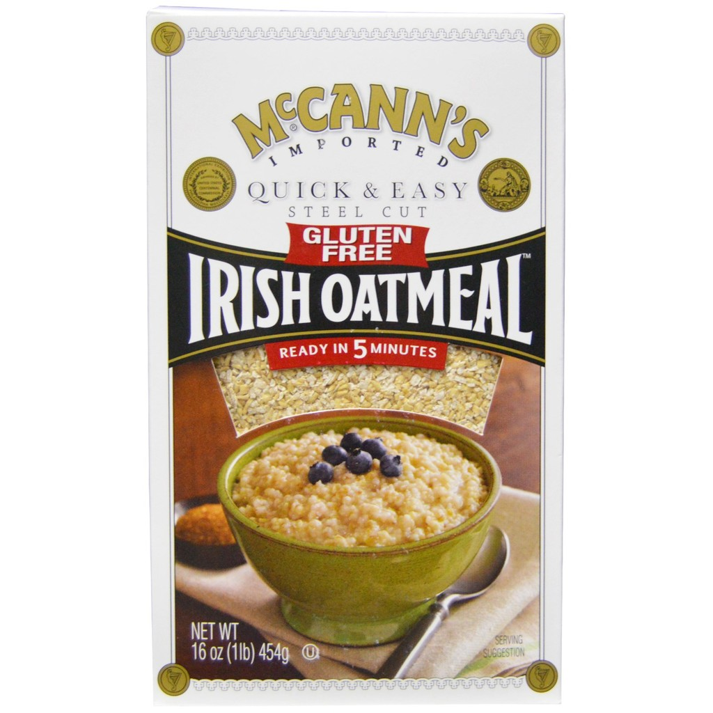 無麩質愛爾蘭燕麥鋼切燕麥針頭麥片McCann s Irish Oatmeal Quick