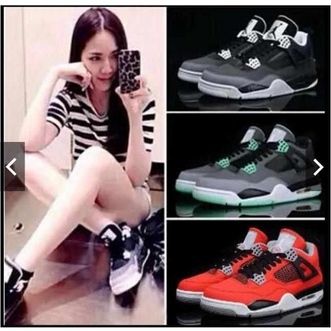正品 喬丹籃球鞋NIKE Air Jordan 4 喬丹4 代男鞋AJ4 喬4 女鞋低幫