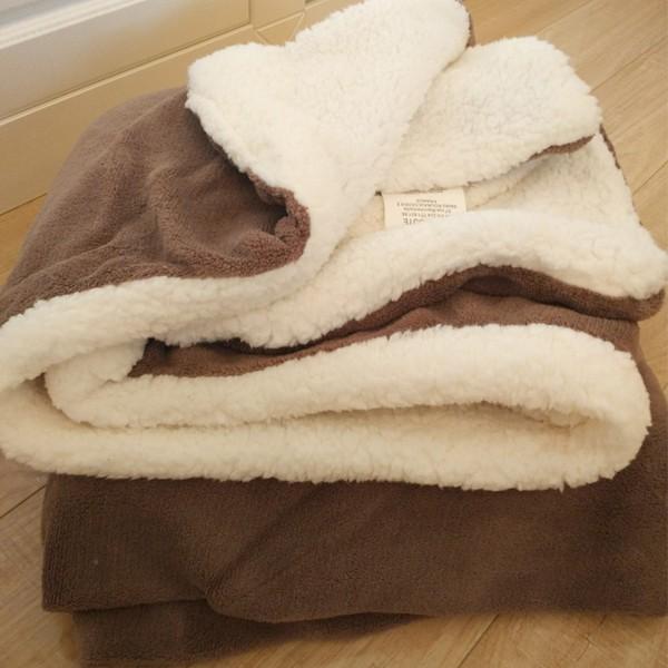 小毛毯沙發蓋毯珊瑚絨羊羔絨雙層加厚珊瑚絨辦公室午睡午休空調兒童毯子幼兒園