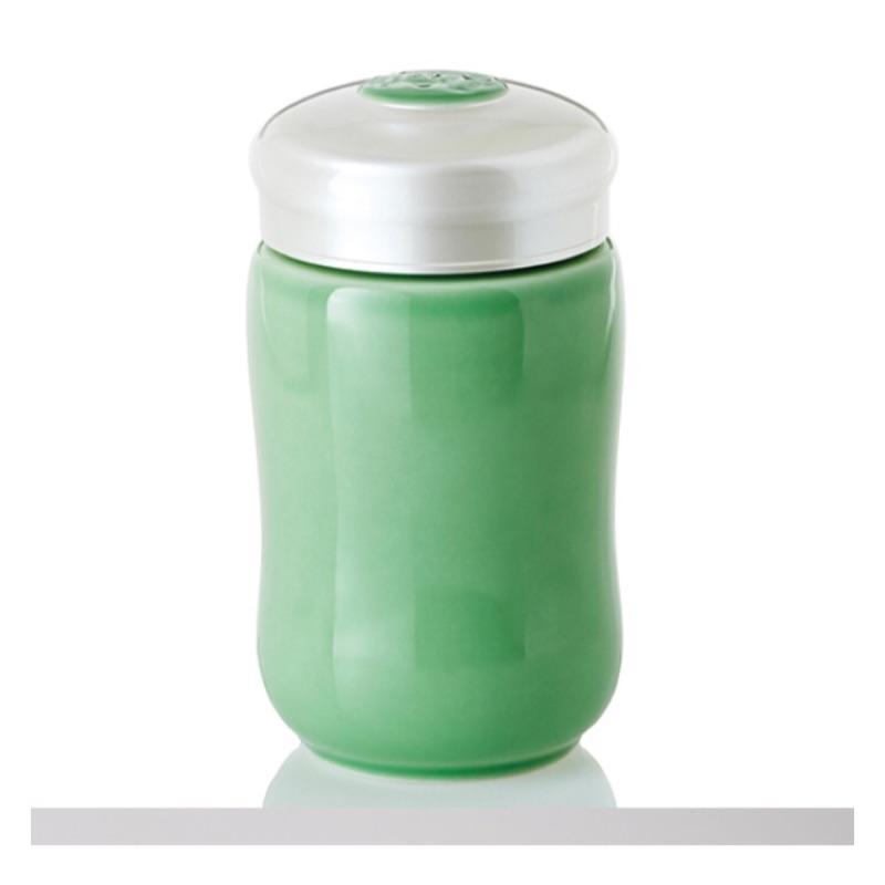 乾唐軒活瓷‧快樂隨身杯小單層果綠