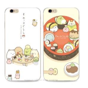 日系簡約吃壽司蘋果se 6s 手機殼iphone6 plus 超薄透明保護套軟殼~東京戀歌