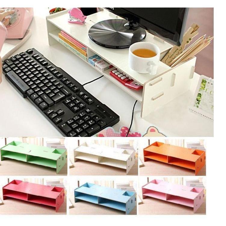 335 號倉庫10色大尺寸 木製DIY 拼裝電腦架DIY 鍵盤架DIY 電腦架DIY 螢幕