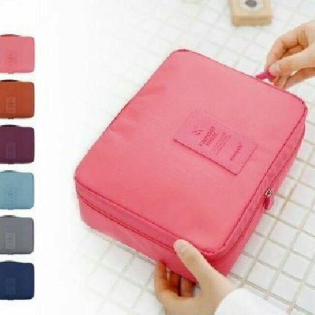 g203 韓國便攜旅行套裝洗漱包出差旅遊 女士防水收納袋化妝包用品
