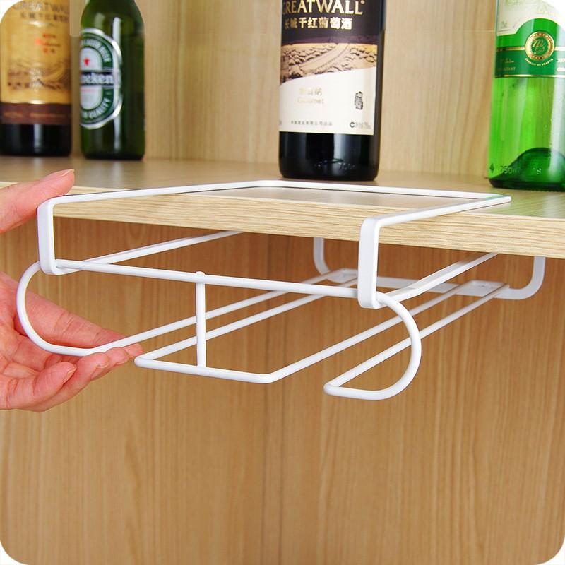 不銹鋼倒掛紅酒杯架耐用的不銹鋼鋼廚房酒吧香檳酒杯持有人酒杯架壁掛杯存儲