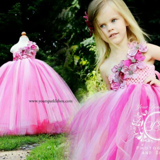 粉紅寶貝大蓬裙