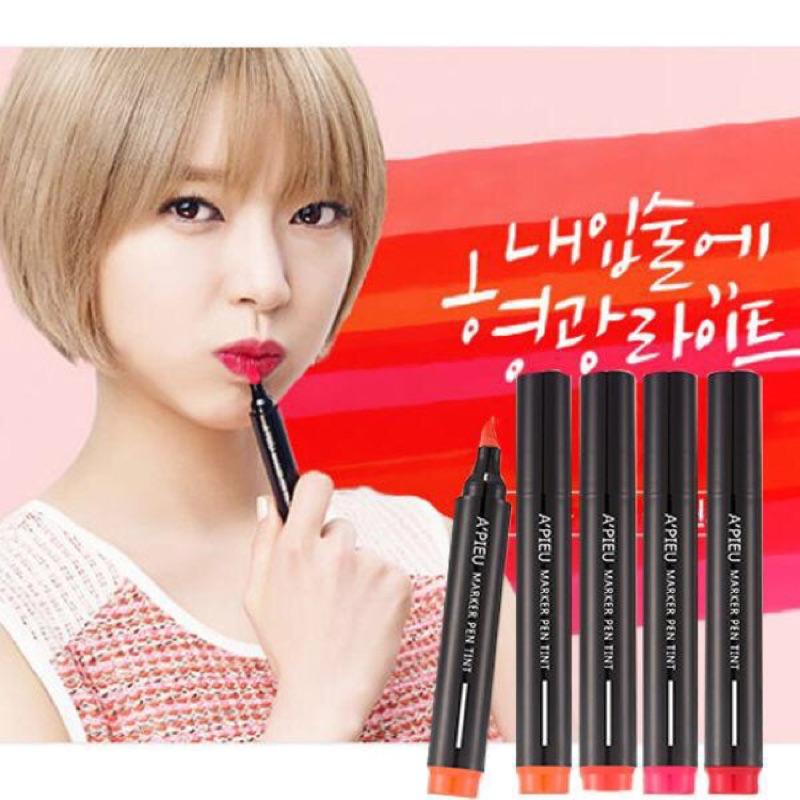 韓國 正品南他宿 到韓國正品Apieu Marker Pen Tint 唇部持久馬克筆唇筆