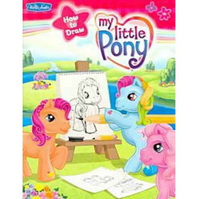 英文童書My Little Pony Hasbro How to Draw Book