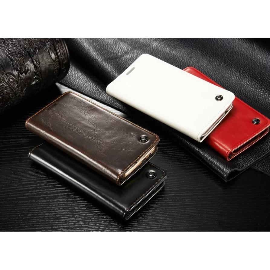 真皮隱形磁釦Iphone 5SE I6 Plus NOTE 4 5 S4 S5 S6 S7