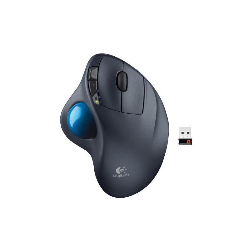 未拆封Logitech 羅技M570 無線軌跡球滑鼠