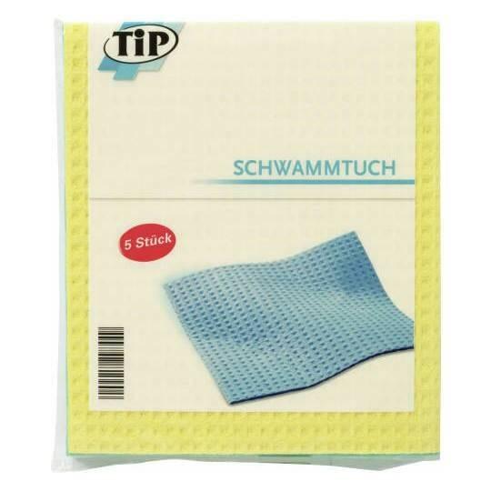 五片裝串起感情的德國TIP 厨房百潔布居家廚房清潔好幫手