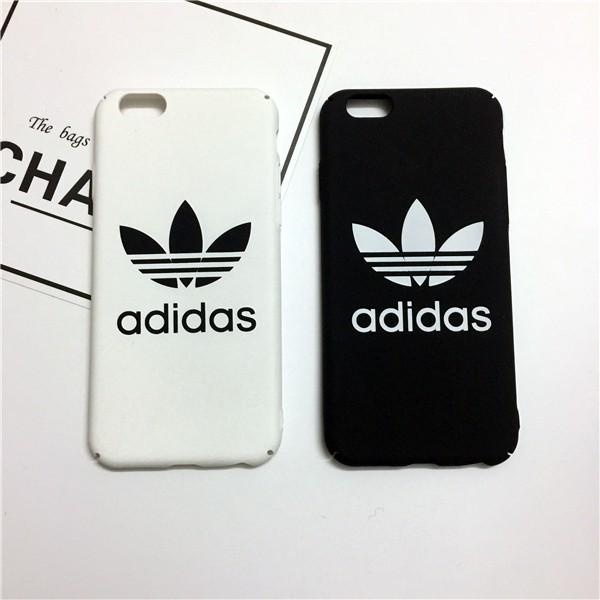 iphone6s 手機殼潮牌adidas iphone5s 6s 7 plus 全系列磨砂