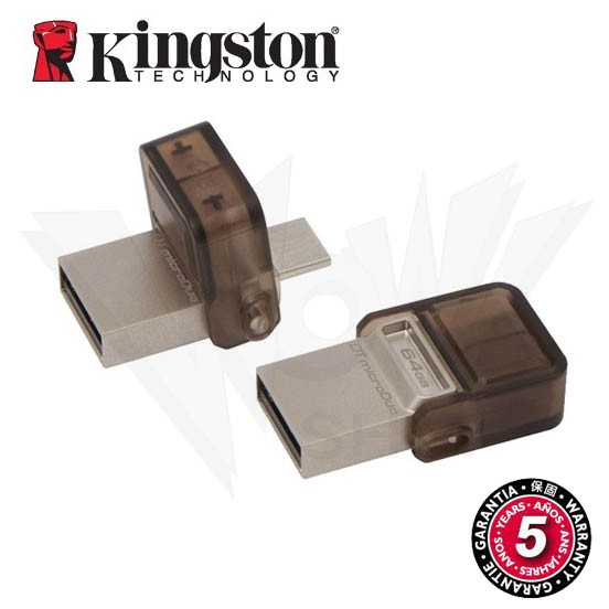 金士頓Kingston DataTraveler microDuo OTG 2 0 兩用隨