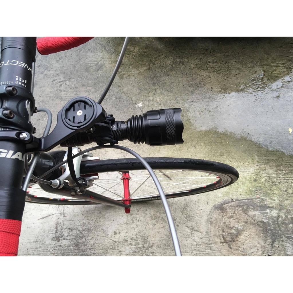 鋁合金碼表座含Gopro 攝影座Garmin Bryton 送車燈固定夾
