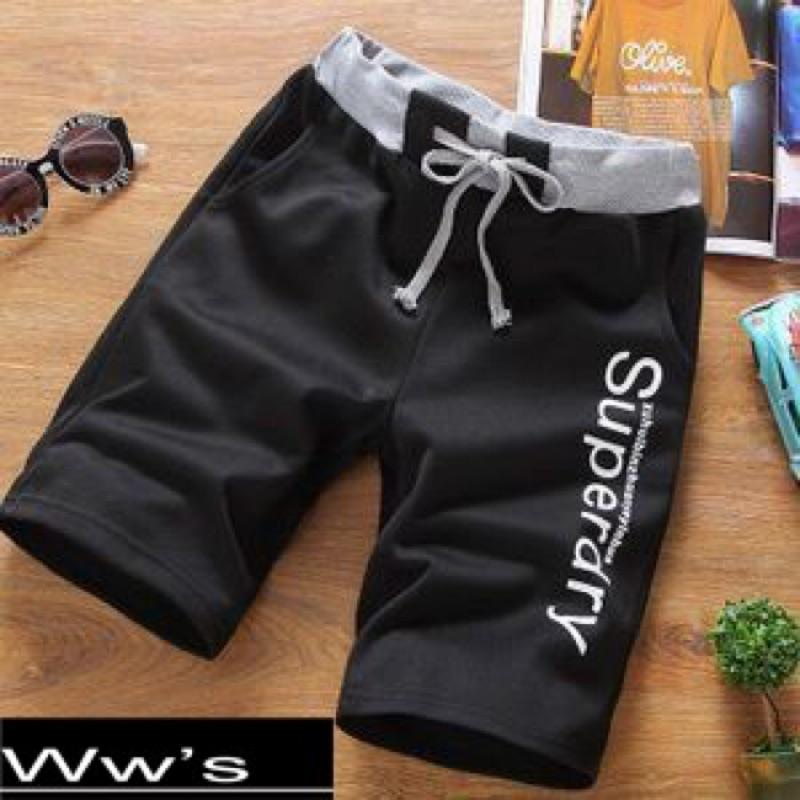 Wws 男女款短棉褲海灘 健身短褲潮流薄款修身棉褲自選顏色記得備註尺寸顏色