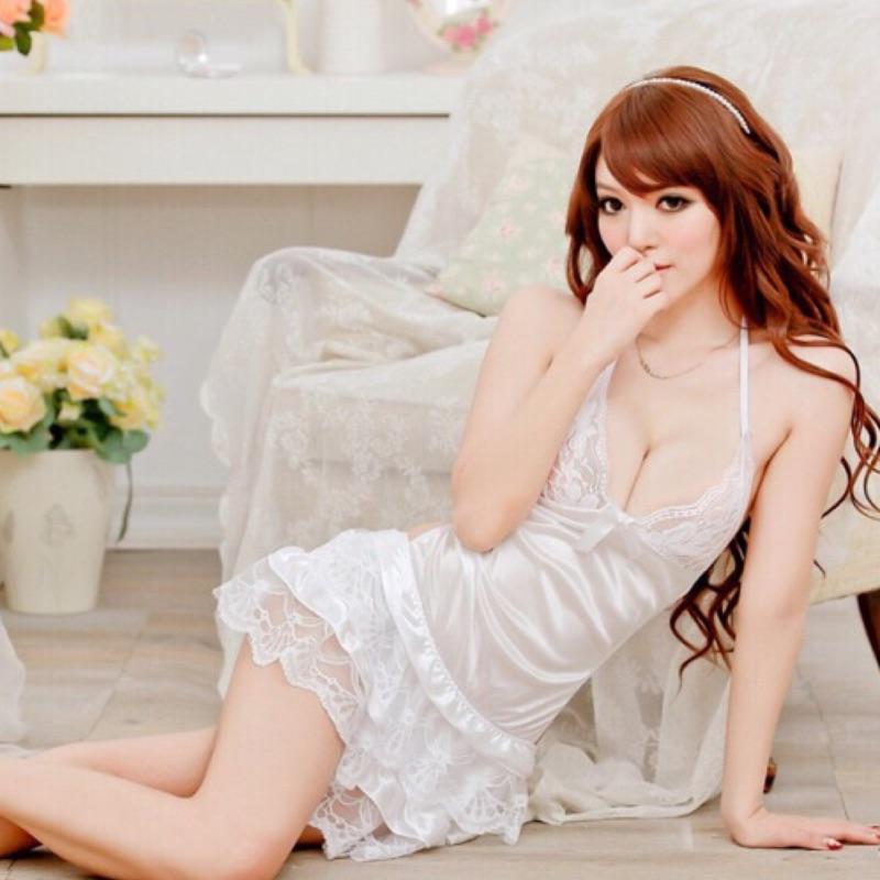 蝶后 露背吊帶蕾絲睡裙蕾絲睡衣睡裙睡衣性感睡衣情趣睡衣吊帶睡衣T1012