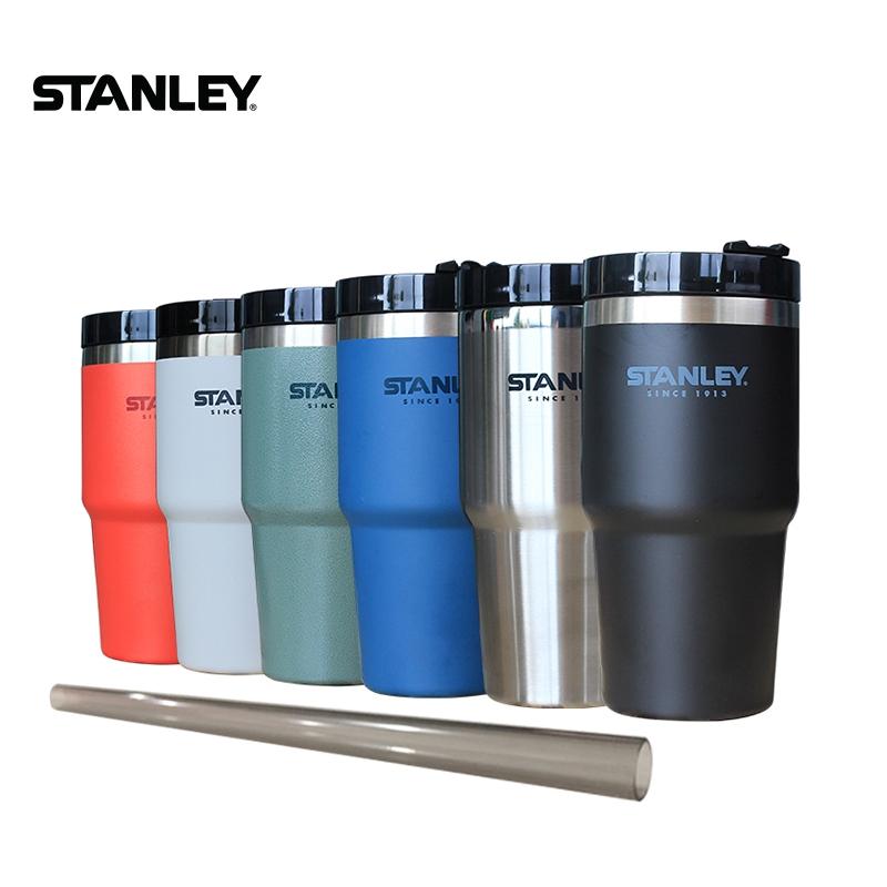 超保溫美國Stanley史丹利保溫杯保溫瓶吸管杯不鏽鋼保溫杯 喝水杯