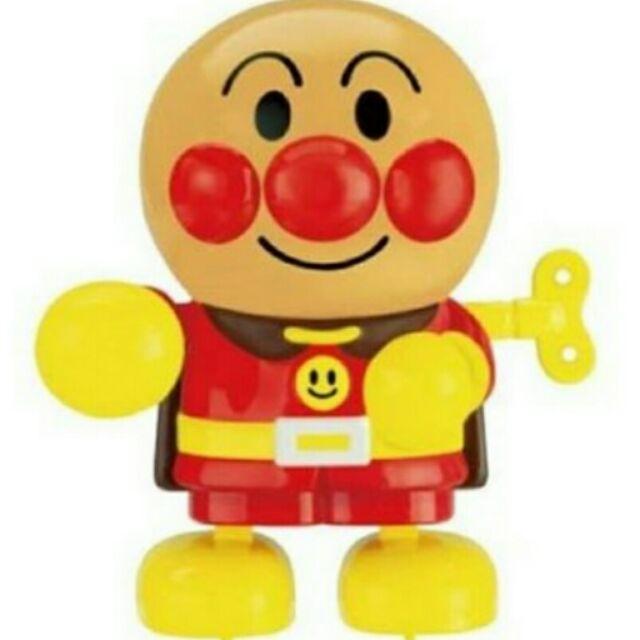 ~ ~~歡樂屋麵包超人~Anpanman 走路發條娃娃公仔玩具